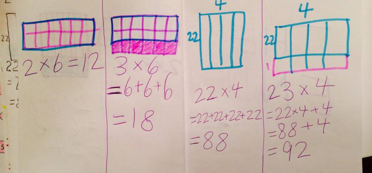 Second Grade Multiplications