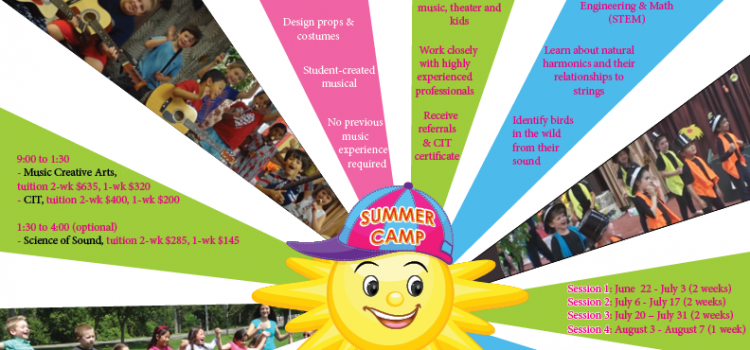Announcing our new Summer Music Creative Arts & STEM Camp