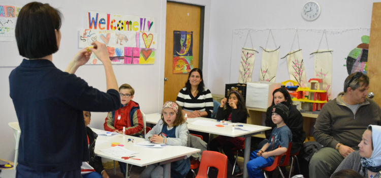 Singapore Math Parent-and-child workshop