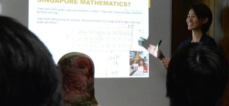 Singapore Math Parent Workshop August 2015