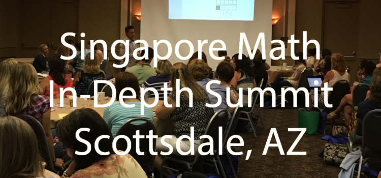 Singapore Math In-Depth Summit 2016